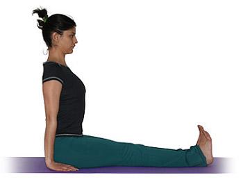 bastón  asanas básicas  yogaes