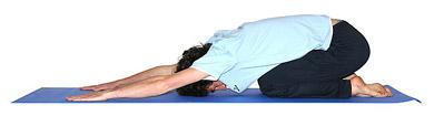 Postura del niño extendido - UTTHITA BALASANA