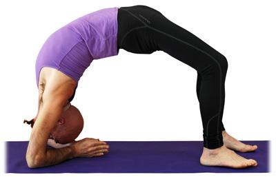 postura de la media rueda  asanas intermedias  yogaes
