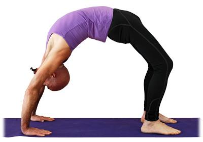 rueda o arco invertido  asanas intermedias  yogaes