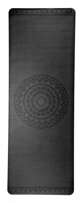 Esterilla de yoga Phoenix negra mandala 4 mm