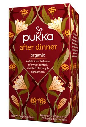 Infusión Ayurvedica After Dinner Pukka