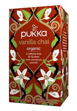 Infusión Ayurvédica Vanilla Chai Pukka