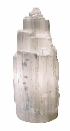 Lámpara Mineral de Selenita