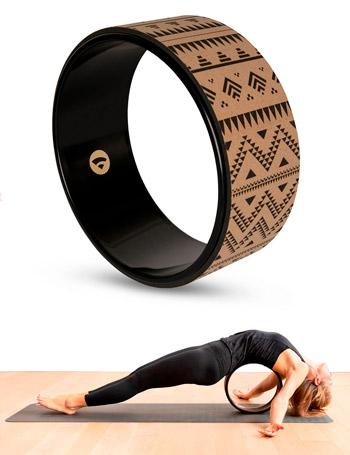 Rueda yoga wheel Samsara corcho