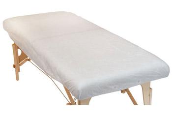 Sábanas desechables para camilla de masaje