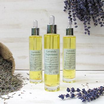 Serum facial aceite de argán con lavanda y geranio