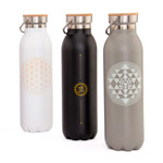 Botella Térmica de Acero inox 600 ml.