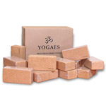 Caja de 20 bricks de corcho