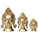 Figura cabeza de Buda