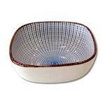 Incensario de cerámica cuadrado