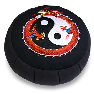 Zafú Bordado Yin-Yang